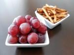 Fantastic Finger Foods_Pretzels and Grapes